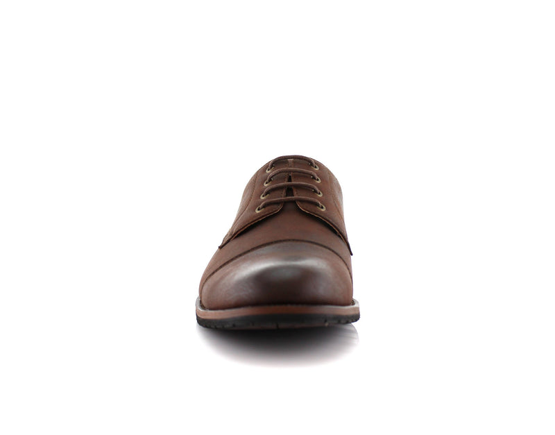 Formal Brown Shoes For Business Suits 2020 Spencer Front View