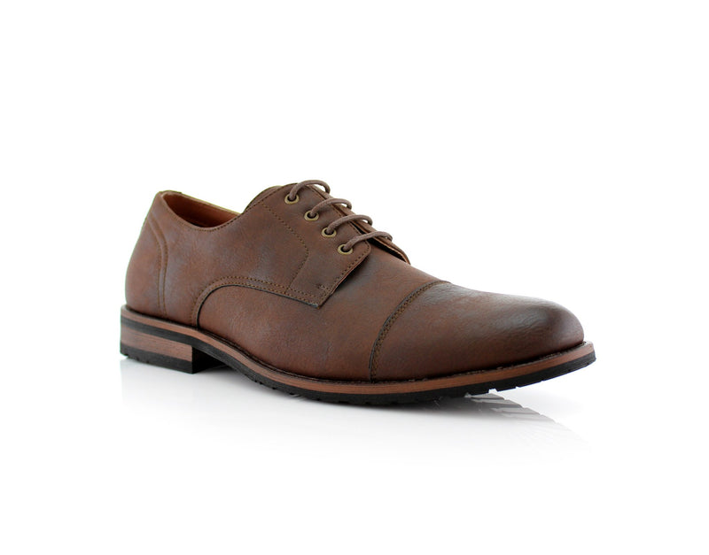 Formal Brown Shoes For Business Suits 2020 Spencer Side View