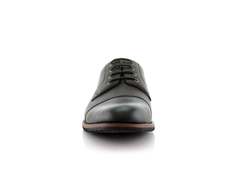 Formal Black Shoes For Business Suits 2020 Spencer Front View
