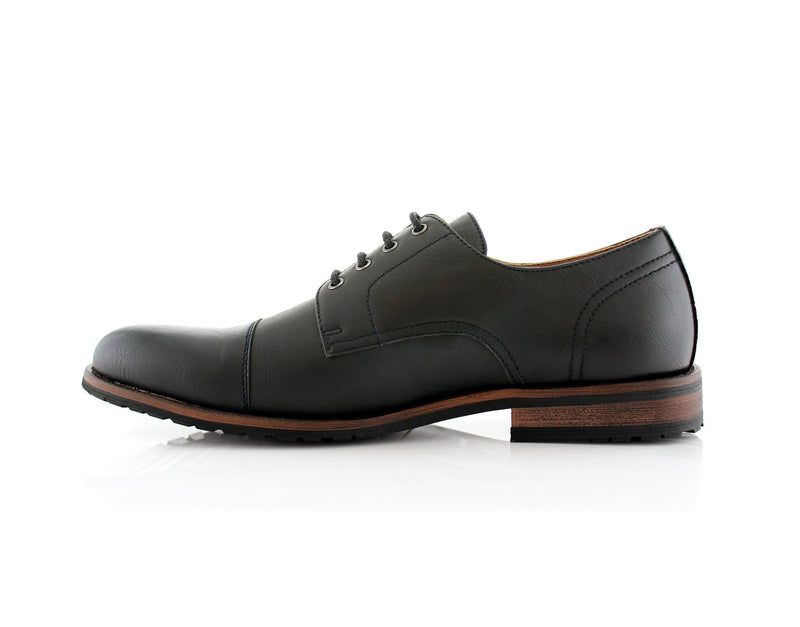 Formal Black Shoes For Business Suits 2020 Spencer Side View