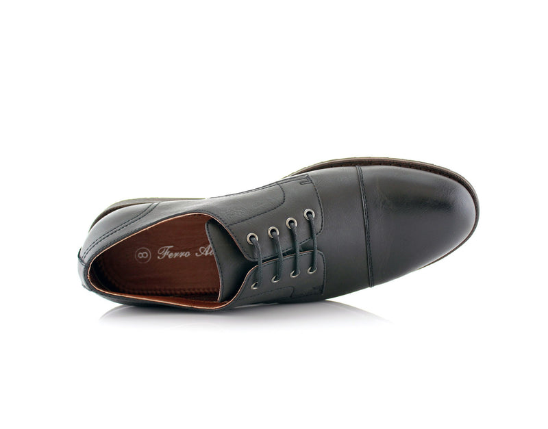 Formal Black Shoes For Business Suits 2020 Spencer Top View