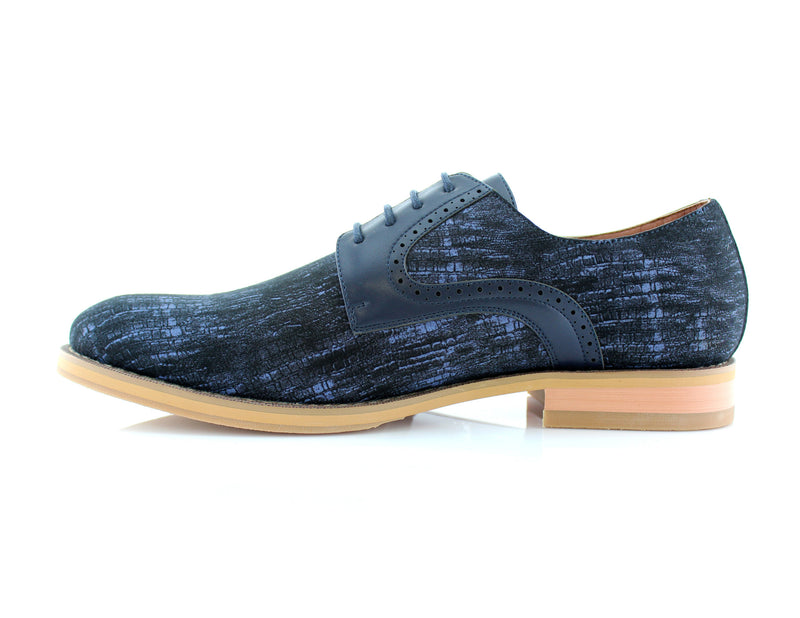 Dark Blue suumer Mens Casual Shoes Comfortable Side View