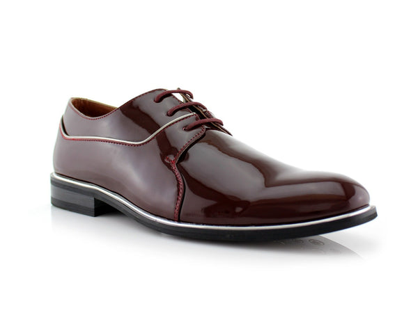 Patent Gloss Faux Leather Men's Casual Work Shoes By Ferro Aldo