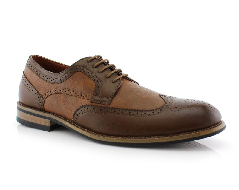 Men's Shoes In Los Angeles | Lennox | Brown Wing Tipped Dress Shoes 2020 | CONAL FOOTWEAR Since 1983
