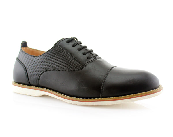 What Shoe To Wear With Casual Suit | Marshall | Semi Brogues Men's Shoe | CONAL FOOTWEAR Since 1983