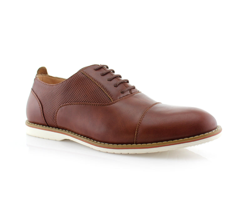 Marshall Semi Brogues Men's Brown Shoe Side View
