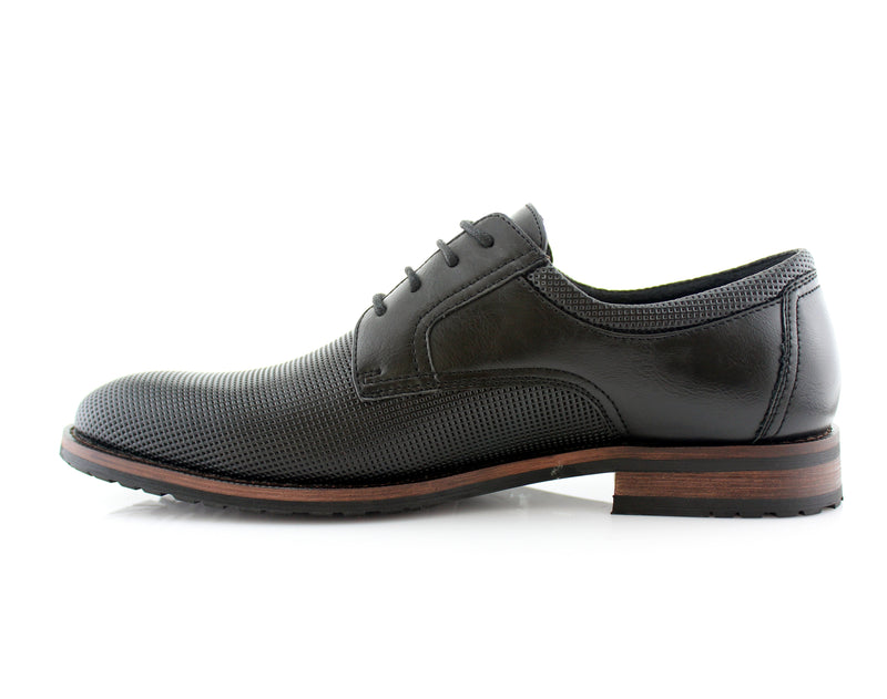 MARTIN by Ferro Aldo- Mens Perforated Classic Business Shoes - CONAL FOOTWEAR Since 1983