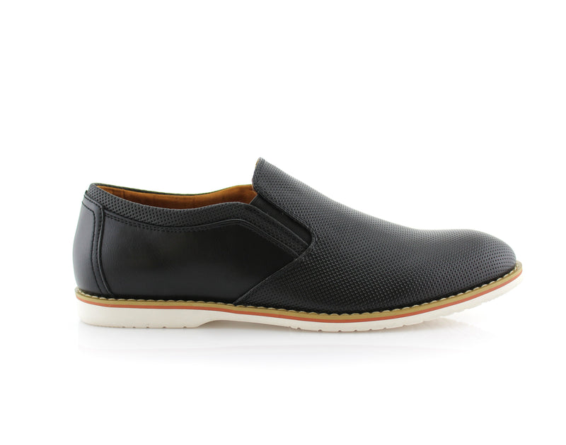 Los Angeles Men's Black Shoes For Sale Elite Side View