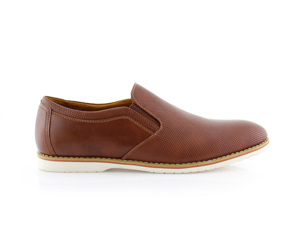 Los Angeles Men's Brown Shoes For Sale Elite Side View