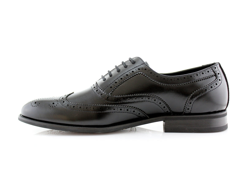 Buy Oxford Conal Footwear Classic Full Brogue Wingtip Dress Shoes