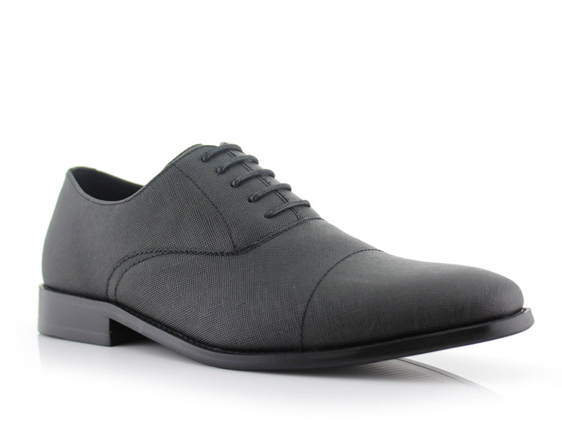 Men's Shoes For Work | GARRETT | Men's Classic Lace Up Oxford Shoes | CONAL FOOTWEAR
