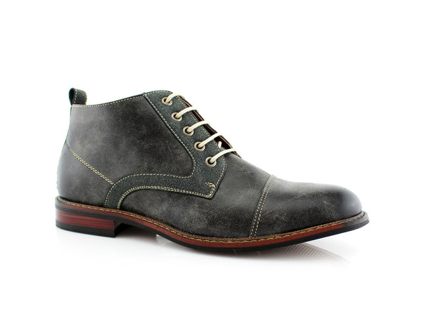 Walking Shoes To Buy Ferro Aldo Eli Dark Gray Color Side View