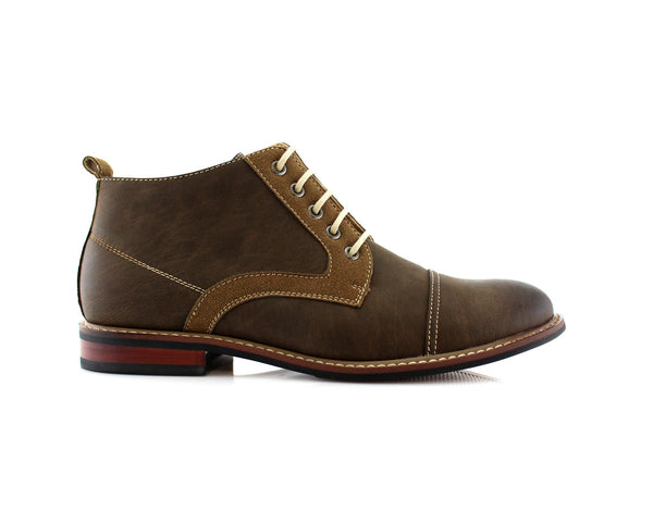 Walking Shoes To Buy Ferro Aldo Eli Brown Side View