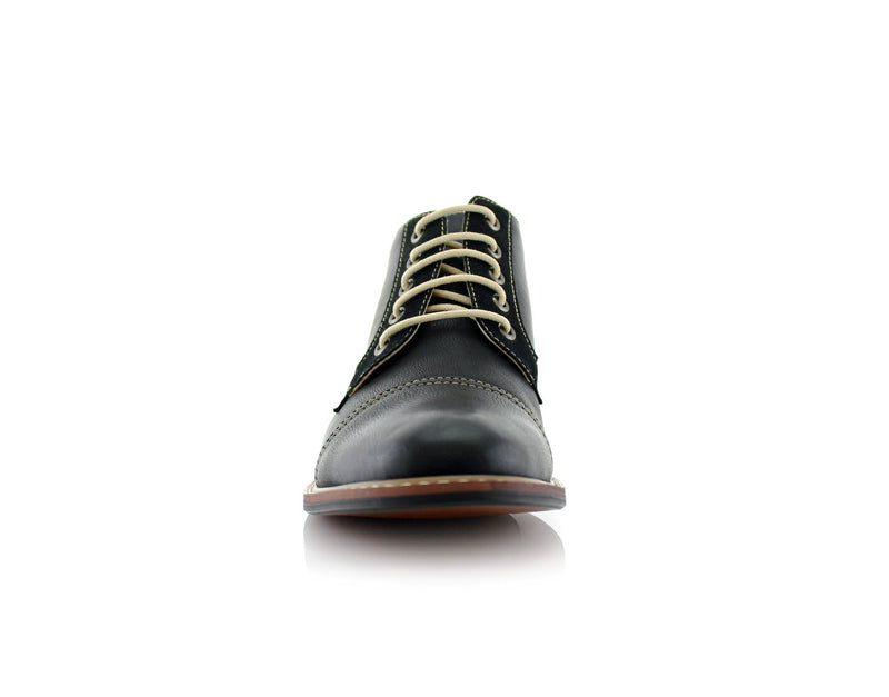 Walking Shoes To Buy Ferro Aldo Eli Black Front View