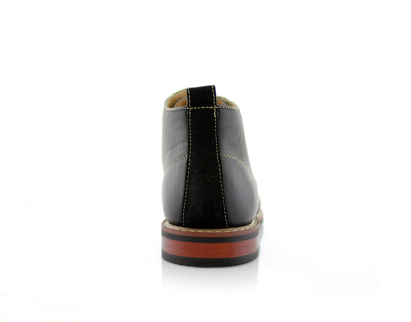 Walking Shoes To Buy Ferro Aldo Eli Black Back View