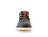 Men's Chukka Black Sneaker Owen 90's Casual Shoes To Wear Front View