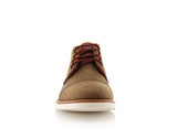 Ferro Aldo Mid Top Casual Shoe In Sand Color Donovan Front View