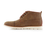 Ferro Aldo Mid Top Casual Shoe In Sand Color Donovan Side View