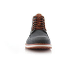Black Sneaker Boots For Men's Melvin Front View