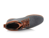 Black Sneaker Boots For Men's Melvin Overlook View