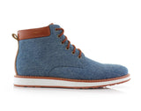 Blue Sneaker Boots For Men's Melvin Side View