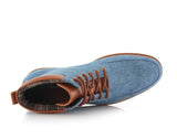 Blue Sneaker Boots For Men's Melvin Top View