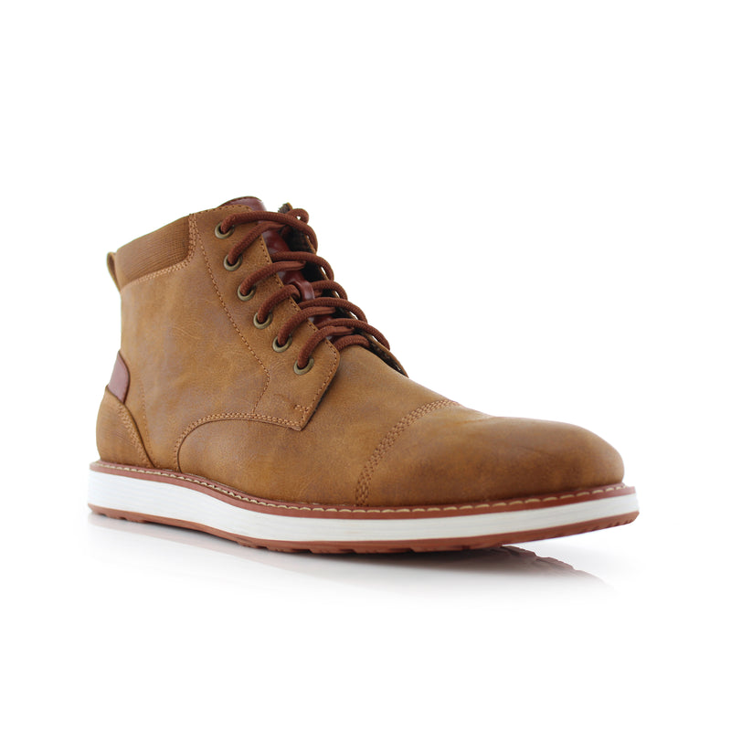 Memory Foam Sneaker | Birt | Ferro Aldo Casual Mid-Top Men's Shoes | CONAL FOOTWEAR