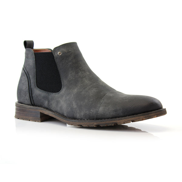 Chelsea Slip on Ankle Boots | Sterling | Ferro Aldo Men's Casual Shoes | CONAL FOOTWEAR