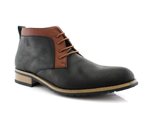 Vegan Leather Chukka Boots | Saint | Men's Shoes For Sale | CONAL FOOTWEAR