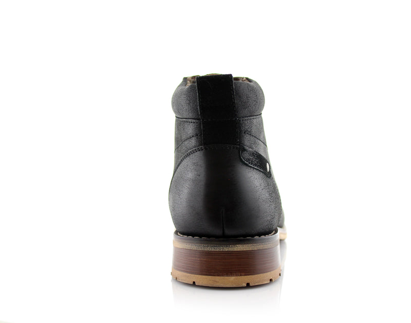 Black Ferro Aldo Fashion Boots For Men Colin Back