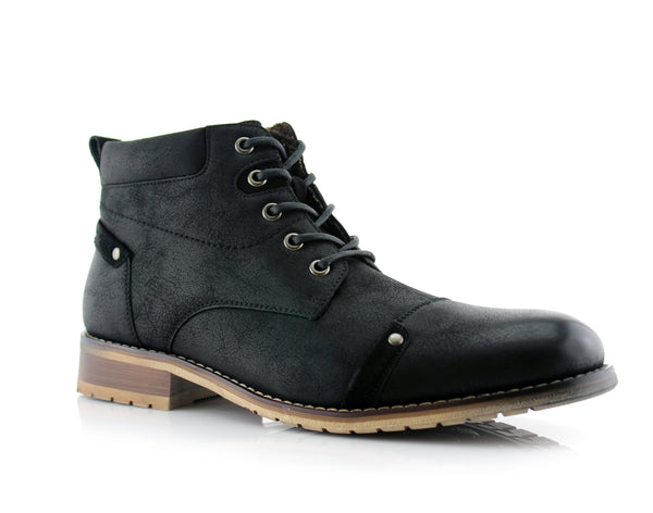 Black Ferro Aldo Fashion Boots For Men Colin Side