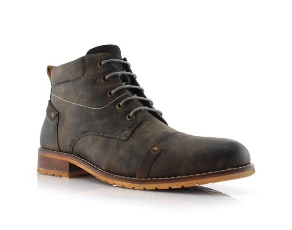 Gray Ferro Aldo Fashion Boots For Men Colin Side