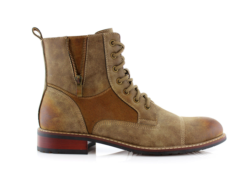 Desert Men's Combat Fashion Boots Andy Side
