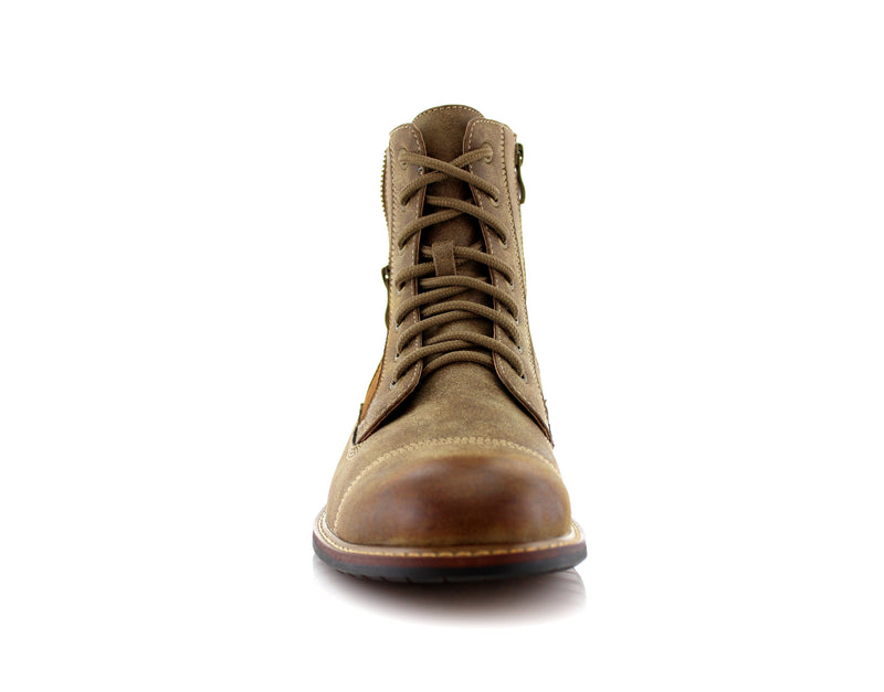Desert Men's Combat Fashion Boots Andy Fromt