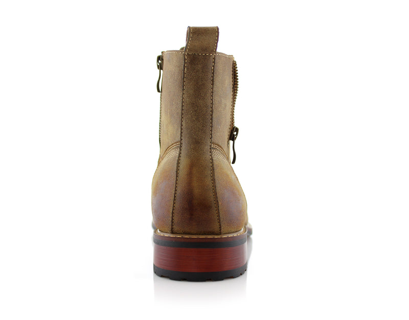 Desert Men's Combat Fashion Boots Andy Back