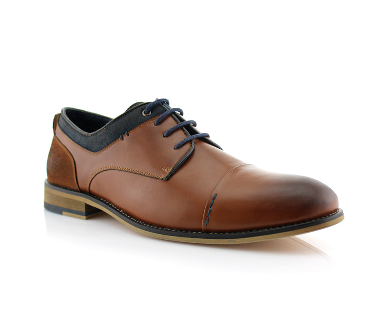 Suede Spring Season Oxford | Alexander | Polar Fox Lace-Up Shoes | CONAL FOOTWEAR