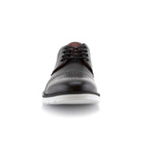 Travel-Friendly Derby Black Sneaker with Memory Foam Front