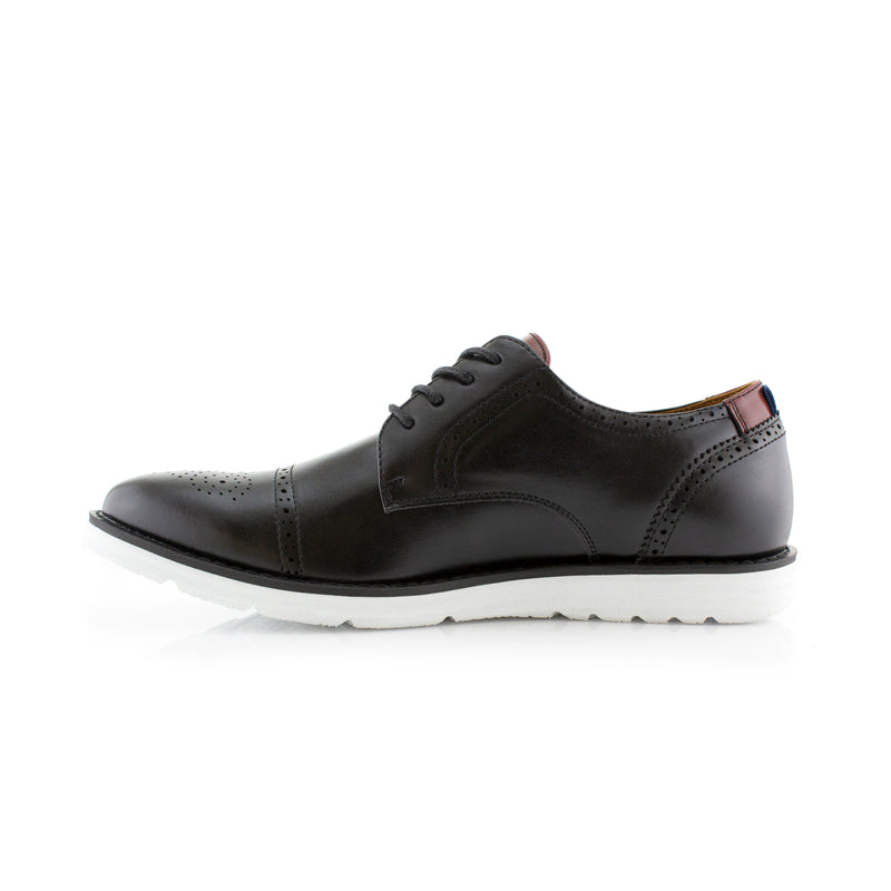 KENNETH by Polar Fox- Memory Foam Oxford Sneaker - CONAL FOOTWEAR Since 1983
