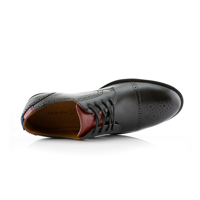 Travel-Friendly Derby Black Sneaker with Memory Foam Top
