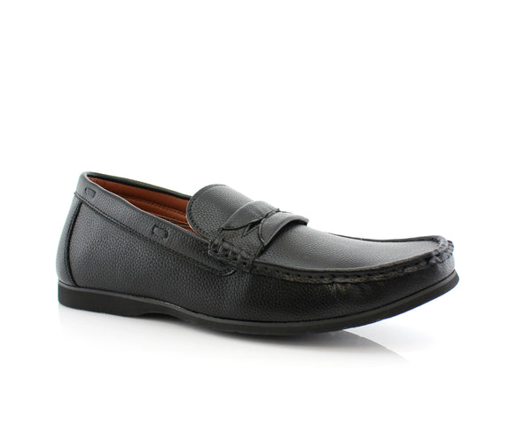 Penny Loafer Slip On Shoes | Caden | Polar Fox Men's Casual Shoes For Men | CONAL FOOTWEAR