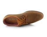 Brown Oxford Sneaker Work Shoes Polar Fox Men's Sneakers Angel Overlook View