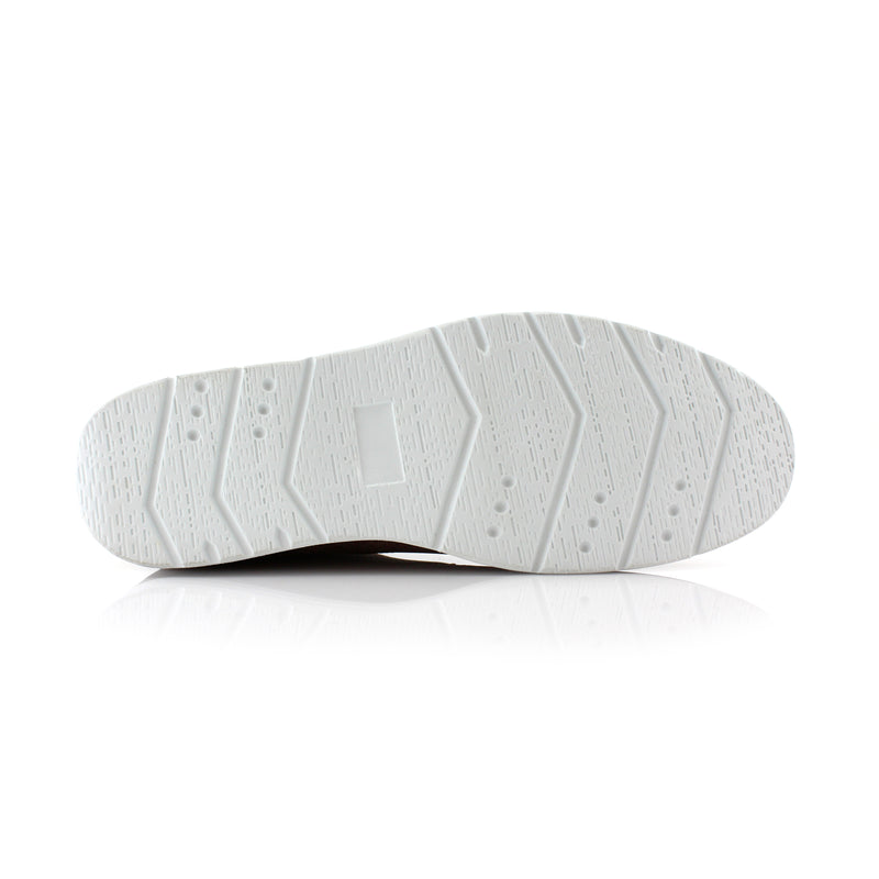Gray Memory Foam Chukka Boots Walker White Sole
