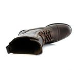 Dark Brown Classic Fashion Boots By Conal Footwear Top View