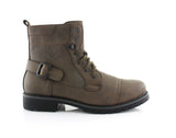 Men's Fashion 2020 Desert Motorcycle Combat Riding Boots Fabian Side