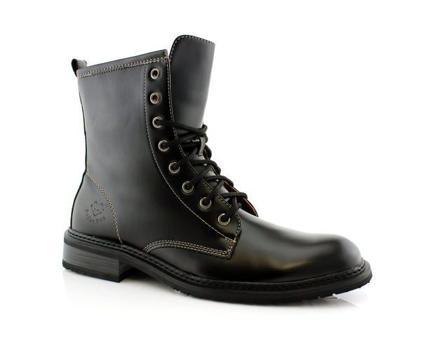 Where To Buy Men Combat Boots | Eugene | Mid-Top Boot Polar Fox