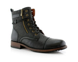 Men's Casual Boots To Wear With Jeans | Kanye | Motorcycle Combat Boots | CONAL FOOTWEAR