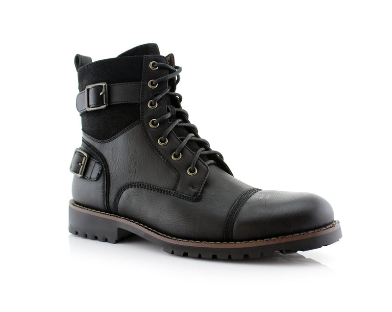 Buy Men's Motorcycle Casual Combat Boot | PATRICK | Best Shoes Men | CONAL FOOTWEAR