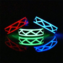 Glow in the dark titanium ring Glowing Rings Carbon 6 carbon fiber Wedding Ring for men women engagement purple luminescent lume rings bands