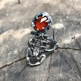 Scorpion and stone ring