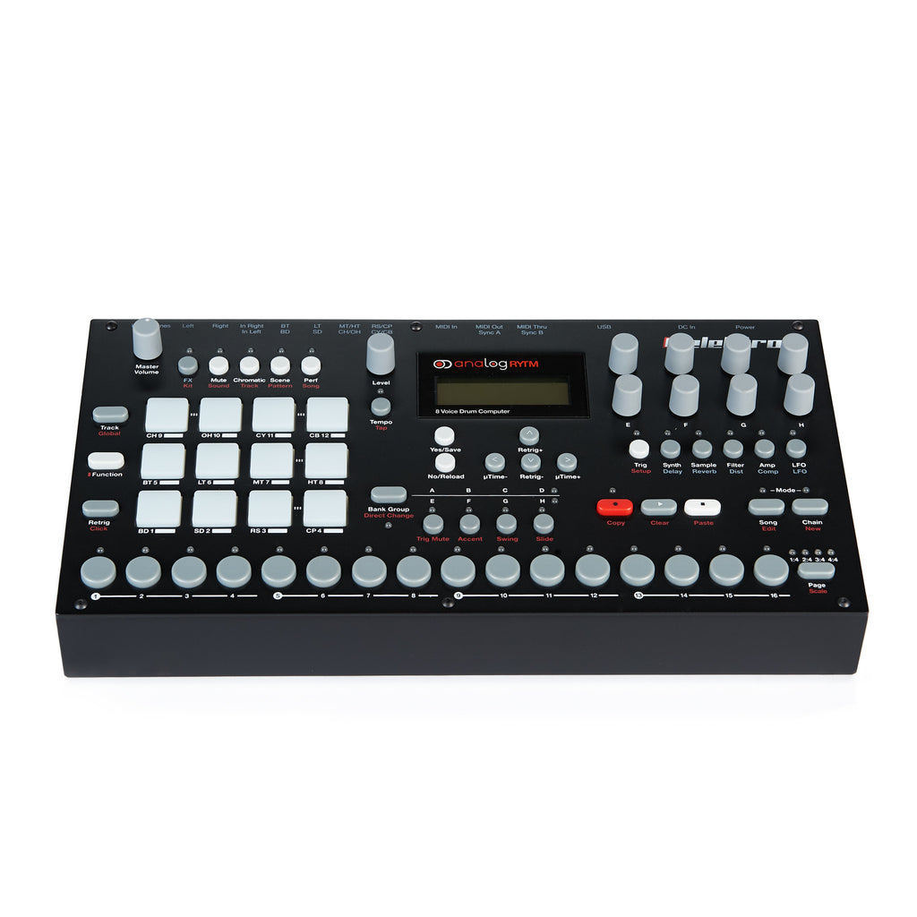 Elektron Analog RYTM Drum Machine Front